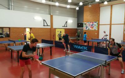 Tennis de table (compétition ou loisir)